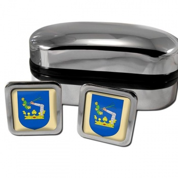 Somogy County Square Cufflinks
