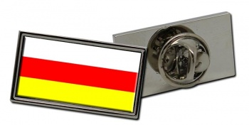 South Ossetia Flag Pin Badge