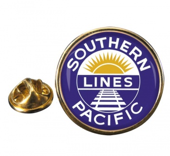 Southern Pacific Round Lapel