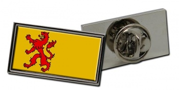Zuid-Holland (Netherlands) Flag Pin Badge
