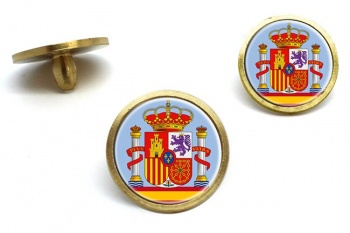 Coat of Arms Escudo de Espana (Spain) Golf Ball Marker