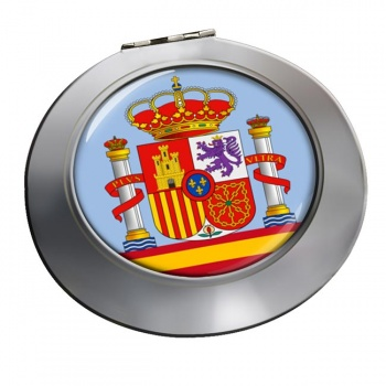 Coat of Arms Escudo de Espana (Spain) Round Mirror