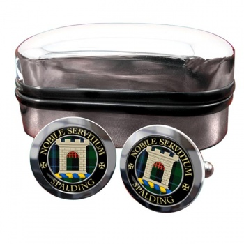 Spalding Scottish Clan Round Cufflinks