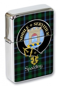 Spalding Scottish Clan Flip Top Lighter