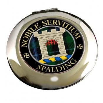 Spalding Scottish Clan Chrome Mirror