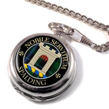 Spalding Scottish Clan Pocket Watch