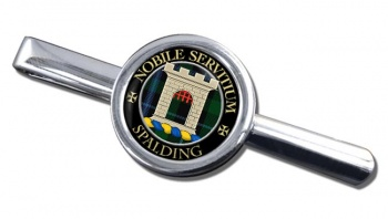 Spalding Scottish Clan Round Tie Clip