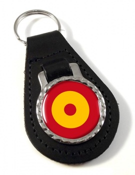 Ejé�rcito del Aire Roundel (Spanish Air Force) Leather Key Fob