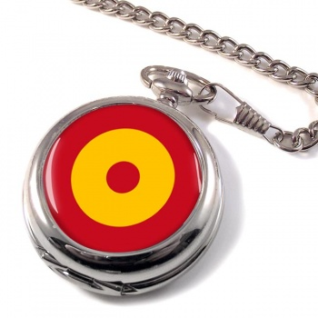 Ejército del Aire Roundel (Spanish Air Force) Pocket Watch