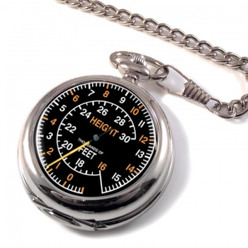 Spitfire Altometer Pocket Watch