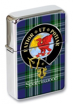 Spottiswood Scottish Clan Flip Top Lighter