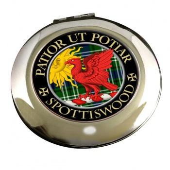 Spottiswood Scottish Clan Chrome Mirror