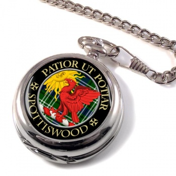Spottiswood Scottish Clan Pocket Watch
