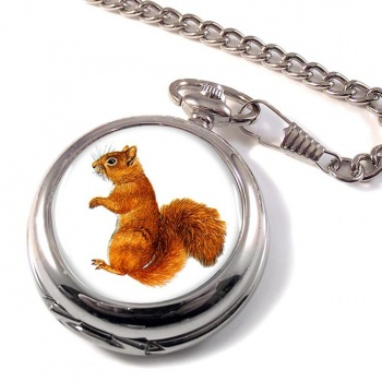 Squirrel Pocket Watch