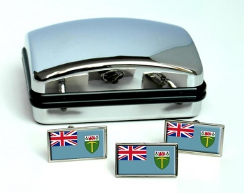 Southern Rhodesia Flag Cufflink and Tie Pin Set