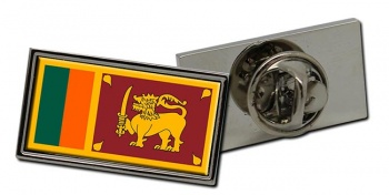 Sri Lanka Flag Pin Badge