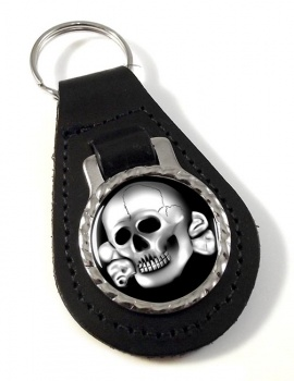 SS-Totenkopfverbände Leather Key Fob
