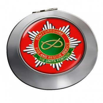 Staffordshire Fire and Rescue Chrome Mirror