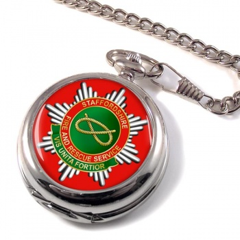 Staffordshire Fire and Rescue Pocket Watch