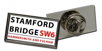 Stamford Bridge Rectangle Pin Badge