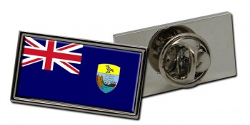 Saint Helena Flag Pin Badge