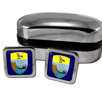 Saint Helena Square Cufflinks