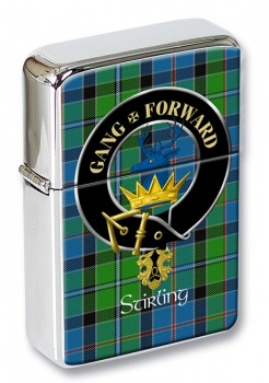 Stirling Scottish Clan Flip Top Lighter