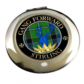 Stirling Scottish Clan Chrome Mirror