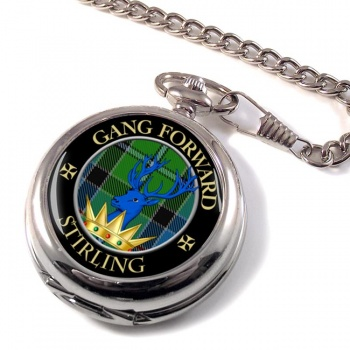 Stirling Scottish Clan Pocket Watch