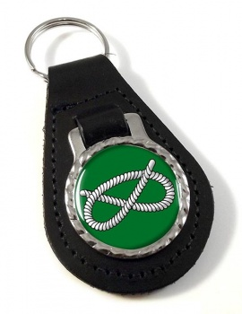 Stafford Knot Leather Key Fob