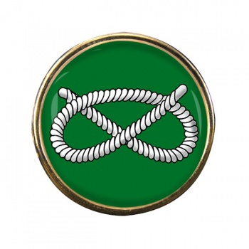 Stafford Knot Round Pin Badge