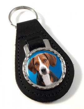 Hamilton Hound Leather Key Fob