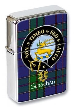 Strachan Scottish Clan Flip Top Lighter