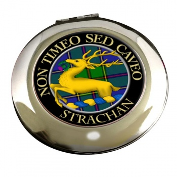Strachan Scottish Clan Chrome Mirror
