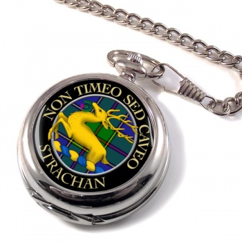 Strachan Scottish Clan Pocket Watch