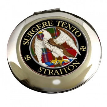 Straiton Scottish Clan Chrome Mirror