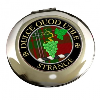 Strange Scottish Clan Chrome Mirror