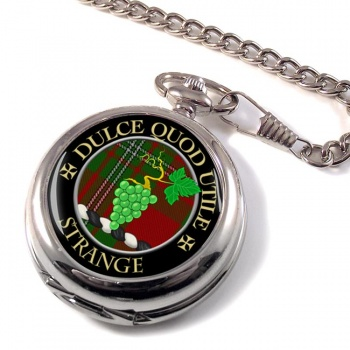 Strange Scottish Clan Pocket Watch