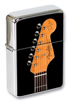 Stratocaster Guitar Flip Top Lighter