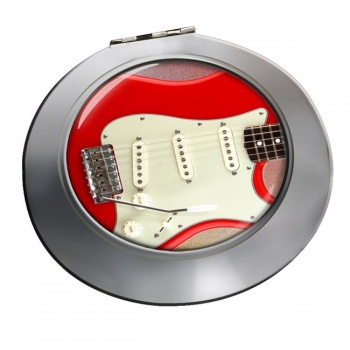 Stratocaster Guitar Chrome Mirror