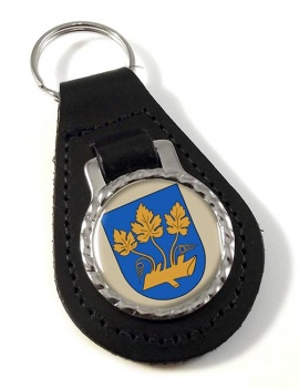 Stavanger (Norway) Leather Key Fob