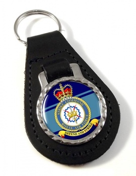 Strike Command (Royal Air Force) Leather Key Fob