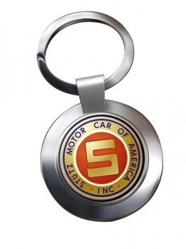 Stutz Chrome Key Ring