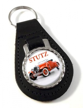 Stutz Convertable Leather Keyfob