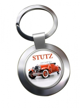 Stutz Convertable Chrome Key Ring
