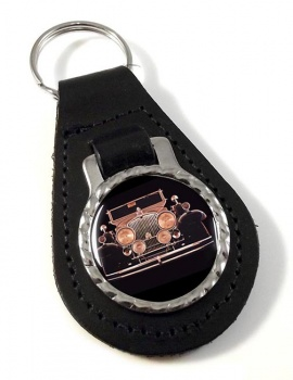 Stutz Vertical Eight SV-16  Leather Keyfob