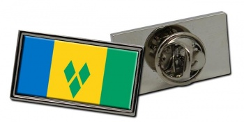Saint Vincent and the Grenadines Flag Pin Badge