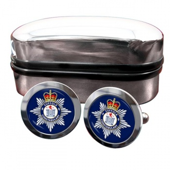 Suffolk Constabulary Round Cufflinks