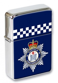 Suffolk Constabulary Flip Top Lighter