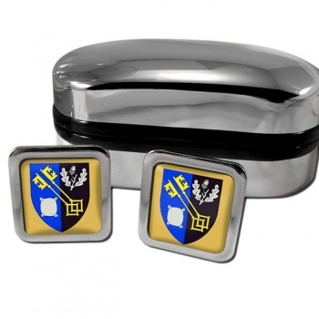 Surrey England Square Cufflinks